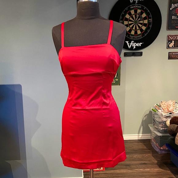 BNWT Urban Outfitters Satin Mini Dress